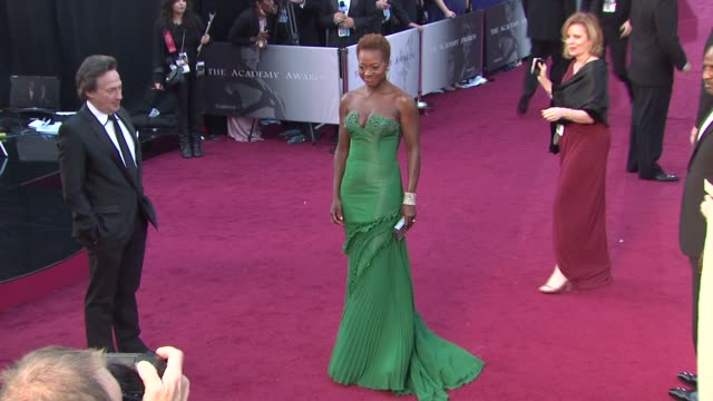 Viola Davis at 84th Annual Academy Awards Arrivals on 2/26/12 in Hollywood CA