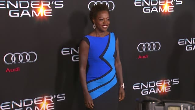 Viola Davis at 'Ender's Game' Los Angeles Premiere in Hollywood CA on