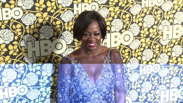 Viola Davis at HBO's Post 2016 Golden Globe Awards Party at Circa 55 Restaurant on January 10 2016 in Los Angeles California