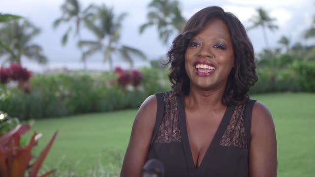 INTERVIEW Viola Davis at the 2016 Maui Film Festival At Wailea Day 3 on June 17 2016 in Wailea Hawaii