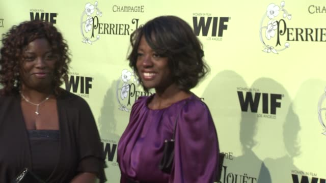Viola Davis at the 2nd Annual Women in Film PreOscar Cocktail Party at Los Angeles CA