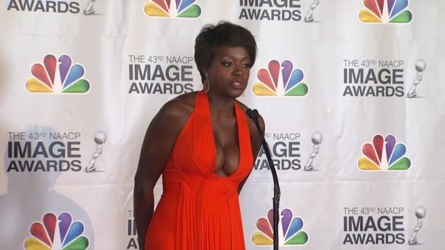 Viola Davis at The 43rd NAACP Image Awards Press Room on 2/17/12 in Los Angeles CA