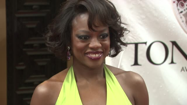 Viola Davis at the 64th Annual Tony Awards at New York NY