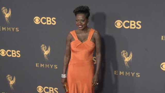Viola Davis at the 69th Annual Primetime Emmy Awards at Microsoft Theater on September 17 2017 in Los Angeles California
