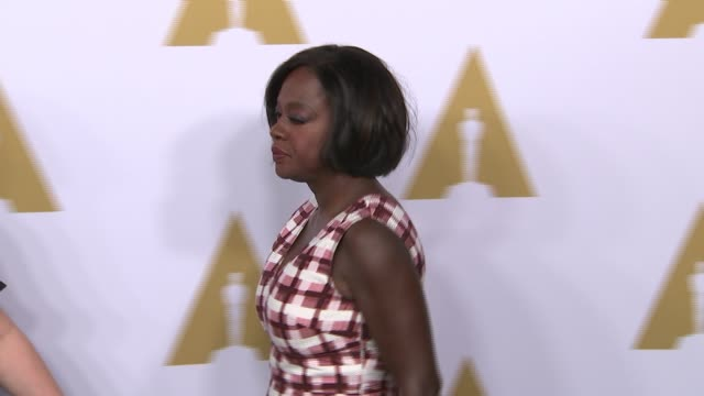 Viola Davis at the 89th Annual Academy Awards Nominee Luncheon at The Beverly Hilton Hotel on February 06 2017 in Beverly Hills California