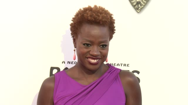 Viola Davis at The Book Of Mormon Los Angeles Opening Night on 9/12/12 in Los Angeles CA