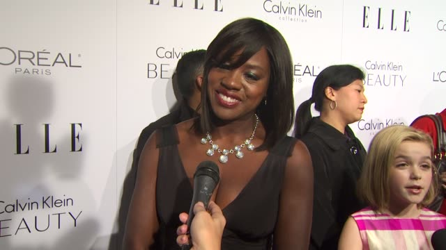 Viola Davis at the ELLE Magazine's 17th Annual Women in Hollywood Celebration at Beverly Hills CA