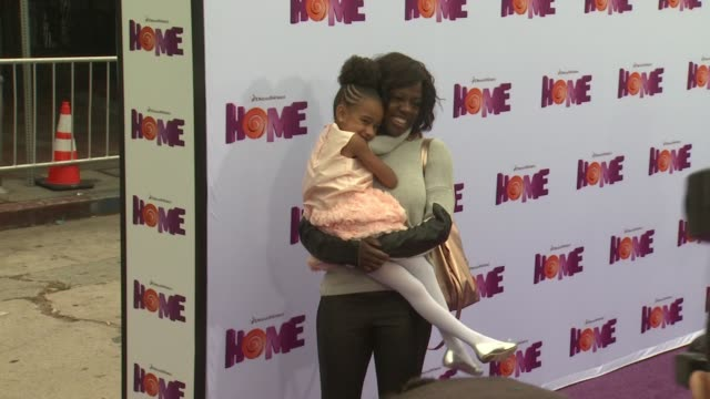 Viola Davis at the 'Home' Los Angeles Premiere at Regency Village Theatre on March 22 2015 in Westwood California