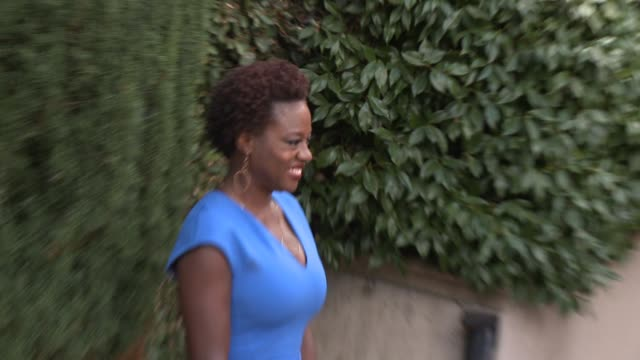 Viola Davis at The Rape Foundation's Annual Brunch At Greenacres in Los Angeles CA