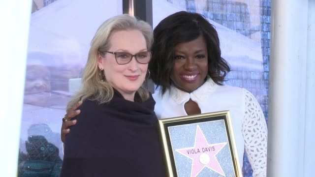 CLEAN Viola Davis Honored With Star On The Hollywood Walk Of Fame at Hollywood Walk Of Fame on January 5 2017 in Hollywood California