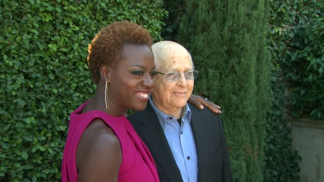 viola davis norman lear at rape treatment center's annual fundraising brunch on 10/14/12 in beverly hills ca - norman lear stock videos and b-roll footage