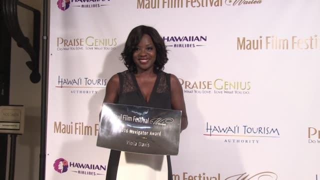 Viola Davis on June 17 2016 in Wailea Hawaii