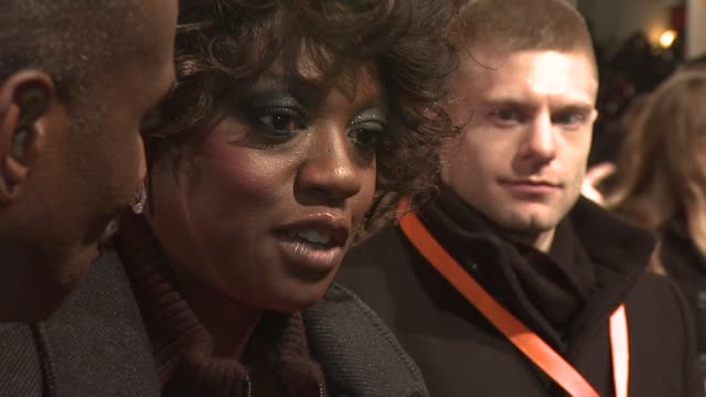Viola Davis on the pressures of filming and the reaction of The Help at The Royal Opera House on February 12 2012 in London England