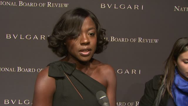 Viola Davis on what the award means to her being recognized for her work working with Meryl Streep working with great actors and the excitement of...