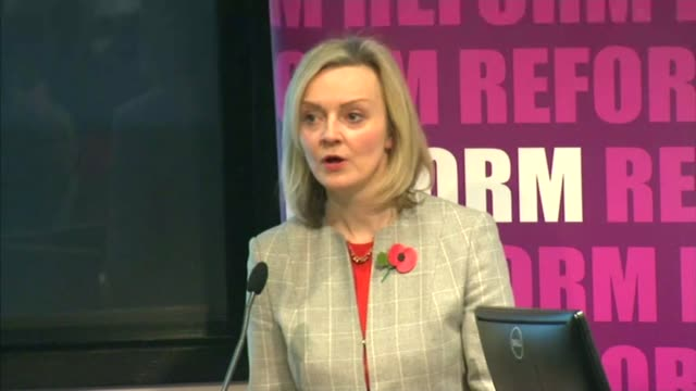 violence in prisons soars liz truss mp speech sot these extra officers will help us crack down on the toxic cocktail of drugs drones and mobile... - prison reform stock videos & royalty-free footage