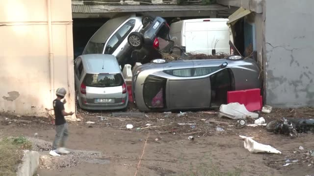 violent storms and flooding along the french riviera have killed at least 17 people and another four are still missing in what were described as... - 2015 stock videos & royalty-free footage