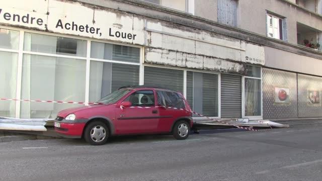 FRA: Violent storms hit France