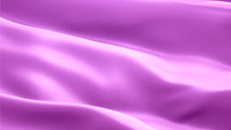 Violet background flag video waving in wind. Realistic Fuchsia Magenta background. Violet Flag Looping 1080p Full HD 1920X1080 footage. Violet color sign of future, imagination, dreams, spirit, calm