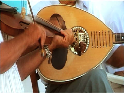 violin and lute - greek culture stock videos & royalty-free footage