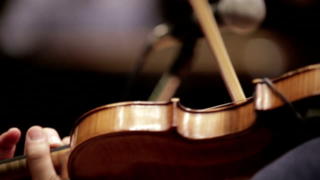 violin at a concert - string stock videos & royalty-free footage
