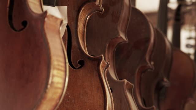 violin maker - violin stock videos & royalty-free footage