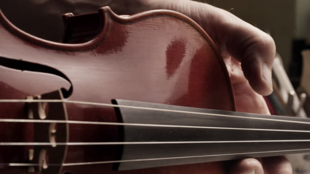 violin maker - accuracy stock videos & royalty-free footage
