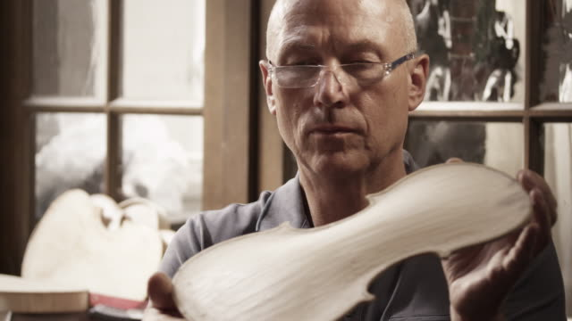 violin maker - carpentry stock videos & royalty-free footage