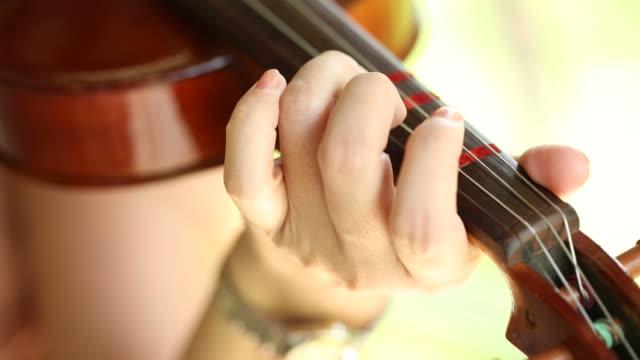 vídeos de stock, filmes e b-roll de violino jogadores - teatro clássico
