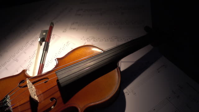 violin - dolly shot stock videos & royalty-free footage