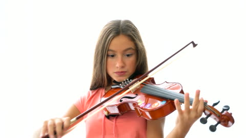 vídeos de stock, filmes e b-roll de violinistas - violino