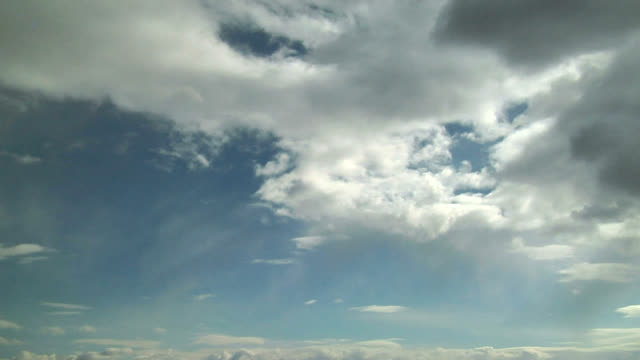 virga from stratocumulus, timelapse - midday stock videos & royalty-free footage