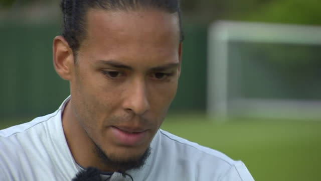Virgil Van Dijk saying the pain of losing the 2018 Champions League final made him a better player
