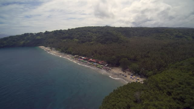 virgin beach karangasem bali - comfort food stock videos and b-roll footage