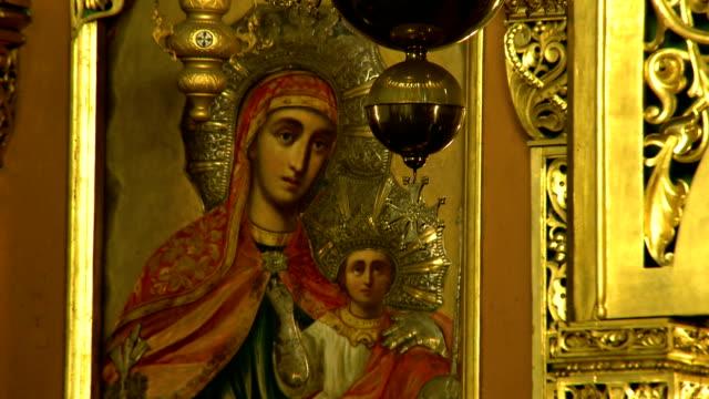 virgin mary とインファント - 新約聖書点の映像素材/bロール