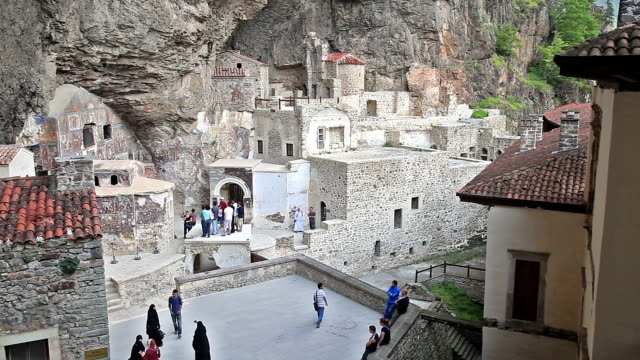 hd: virgin mary monastery - monastery stock videos & royalty-free footage