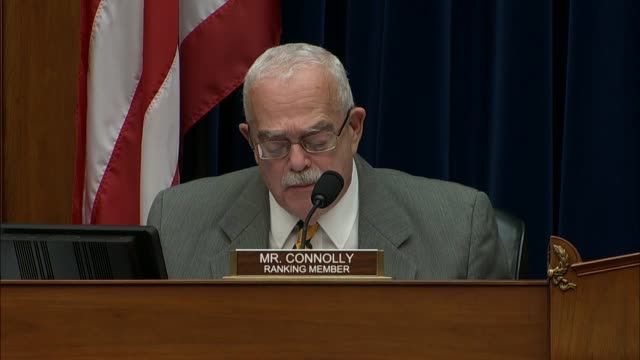 Virginia Congressman Gerald Connolly of Virginia says at a House Oversight and Government Reform subcommittee hearing to review the tax status and...