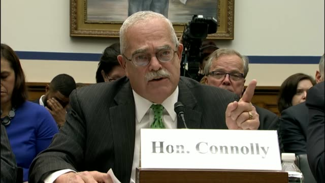 Virginia congressman Gerald Connolly tells members of the House Transportation and Infrastructure Committee about his disappointment with the state...