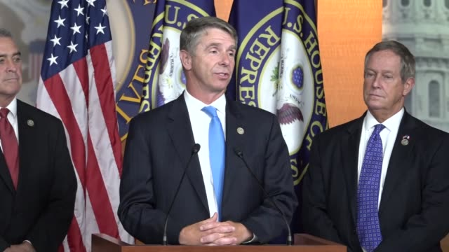virginia congressman rob wittman says at a news conference after house passage of the fiscal 2018 defense authorization that it is a great day for... - replacement stock videos and b-roll footage