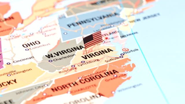 virginia from usa states - richmond virginia stock videos & royalty-free footage