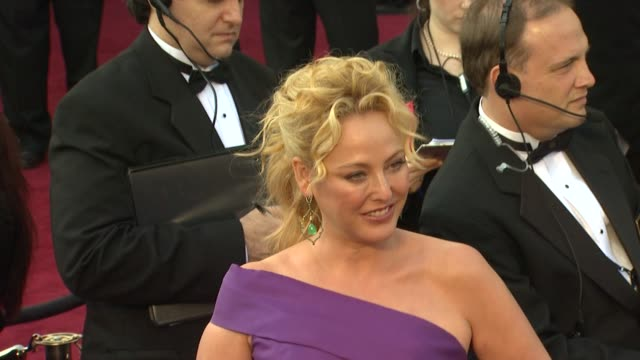 virginia madsen at 84th annual academy awards - arrivals on 2/26/2012 in hollywood, ca. - virginia madsen stock videos & royalty-free footage