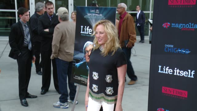 "virginia madsen at ""life itself"" los angeles premiere at arclight hollywood on june 26, 2014 in hollywood, california. - virginia madsen stock videos & royalty-free footage"
