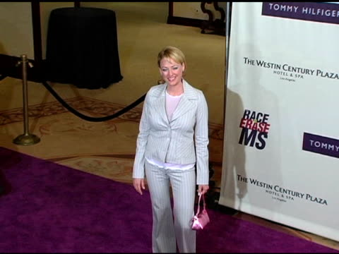 virginia madsen at the 12th annual race to erase themed rock and royalty to erase at the westin century plaza hotel in century city, california on... - virginia madsen stock videos & royalty-free footage