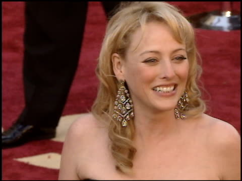 virginia madsen at the 2005 academy awards at the kodak theatre in hollywood, california on february 27, 2005. - virginia madsen stock videos & royalty-free footage