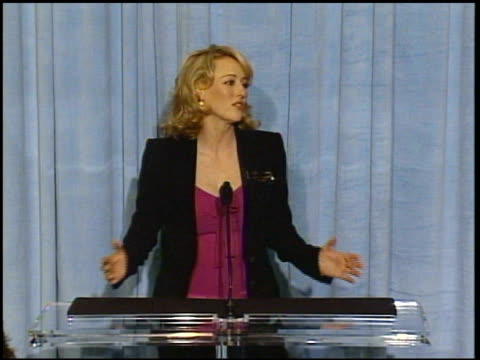 virginia madsen at the 2005 annual academy awards nominee luncheon interview room at the beverly hilton in beverly hills california on february 7 2005 - virginia madsen stock videos & royalty-free footage