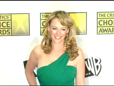 virginia madsen at the 2006 critics' choice awards arrivals at santa monica civic auditorium in santa monica, california on january 9, 2006. - virginia madsen stock videos & royalty-free footage