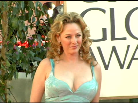 virginia madsen at the 2006 golden globe awards arrivals at the beverly hilton in beverly hills, california on january 16, 2006. - virginia madsen stock videos & royalty-free footage
