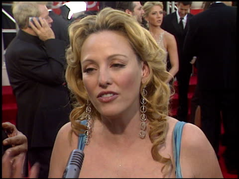 virginia madsen at the 2006 golden globe awards at the beverly hilton in beverly hills, california on january 16, 2006. - virginia madsen stock videos & royalty-free footage