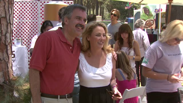 virginia madsen at the 20th anniversary 'a time for heroes' celebrity carnival sponsored by disney at los angeles ca. - virginia madsen stock videos & royalty-free footage