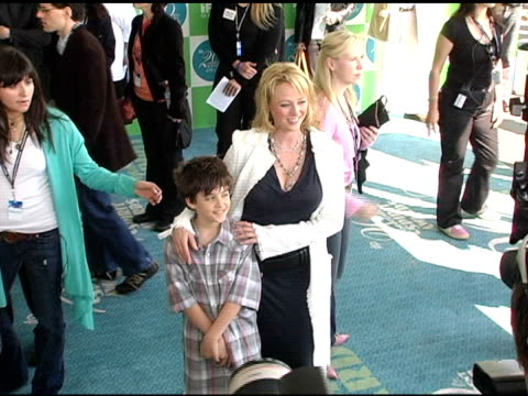 virginia madsen at the 20th annual independent spirit awards arrivals and interviews at santa monica in santa monica california on february 26 2005 - virginia madsen stock videos & royalty-free footage