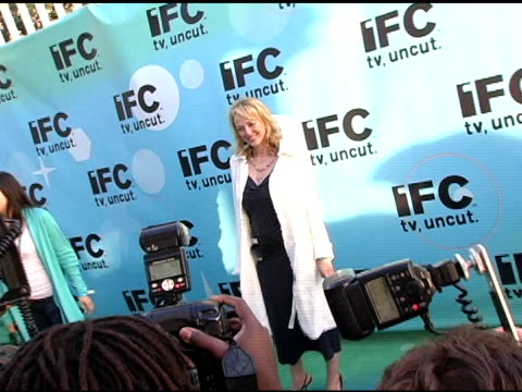 virginia madsen at the 20th annual independent spirit awards afterparty at santa monica in santa monica california on february 26 2005 - virginia madsen stock videos & royalty-free footage
